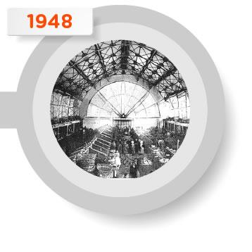 Mercat d'Abastos en 1948