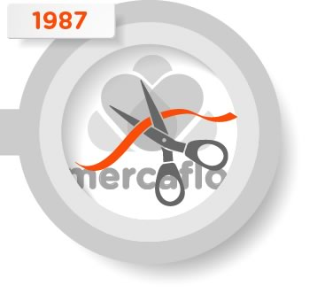 Representació de la inauguració de Mercaflor.