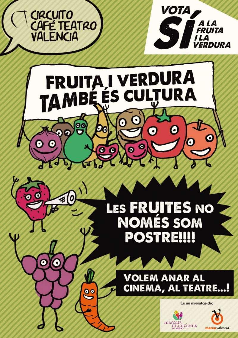Campanya de fruita en moments d'oci