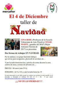 Cartell anunciador del Taller de Nadal de Mercaflor