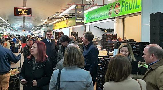 Una nombrosa delegació de la província sèrbia de Vojvodina visita Mercavalència
