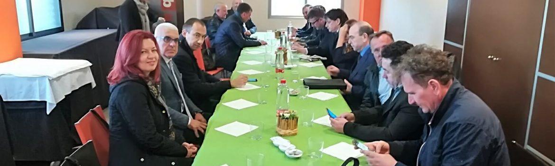 Dinar de la delegació de Vojvodina a Mercavalència