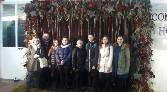 Mercaflor rep la visita d'un grup d'alumnes provinents de Lituània