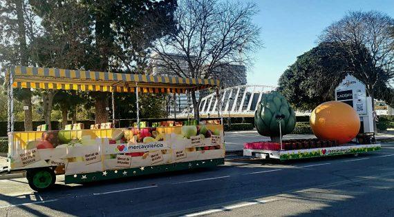 Destacada participació de Mercavalència en la Cavalcada de Reis 2018