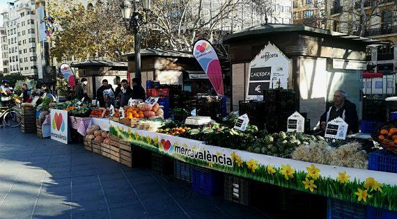 Mercavalència, present per tercera vegada en De l'Horta a la Plaça