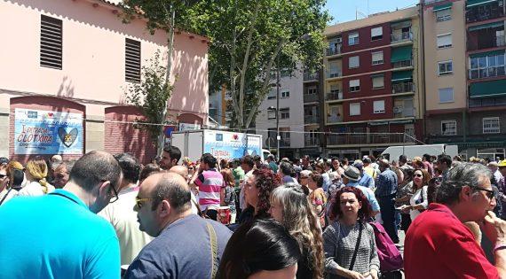 Èxit rotund de participació en la Primer Entrada de la Clòtxina de València