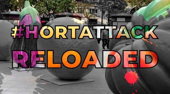 Sis artistes urbans realitzen en Mercavalència #HortAttack RELOADED