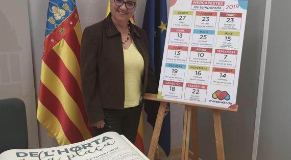 Mercavalència presenta las Mercafestes, la celebración de la llegada de los productos de temporada