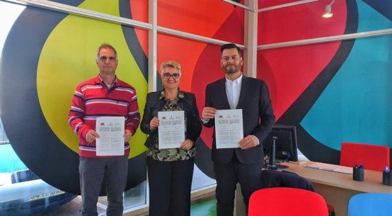 Mercavalència, el CAECV y la Concejalía de Agricultura y Pueblos de València se unen para fomentar los productos ecológicos en la Comunitat