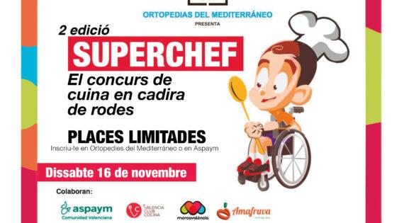Mercavalència acull SÚPERCHEF,el gran concurs de cuina en cadira de rodes