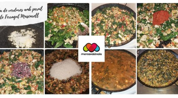 Com preparar una paella de verdures amb pernil perVicenteFerragut Mascarell