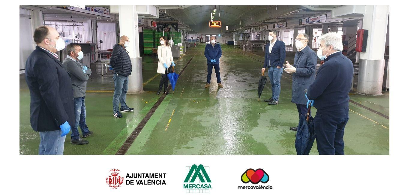 El Ajuntament de València i Mercasa agraeixen l'esforç dels operadors de Mercavalència