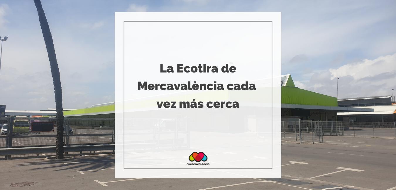 La Ecotira de Mercavalència, el centro de distribución de producto ecológico local cada vez más cerca
