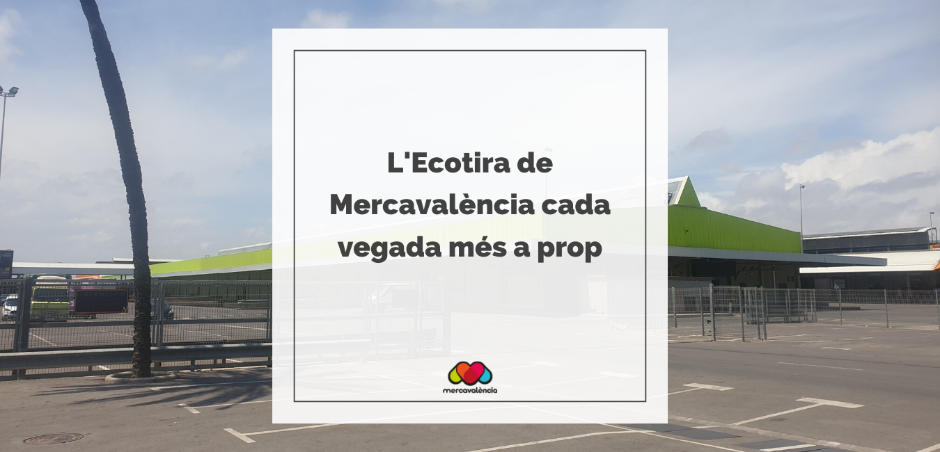 La Ecotira de Mercavalència, el centre de distribució de producte ecològic local cada vegada més a prop