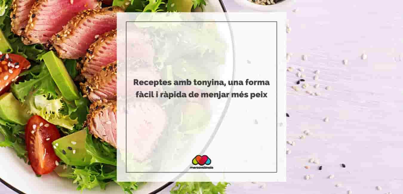 Receptes amb tonyina, una forma fàcil i ràpida de menjar més peix