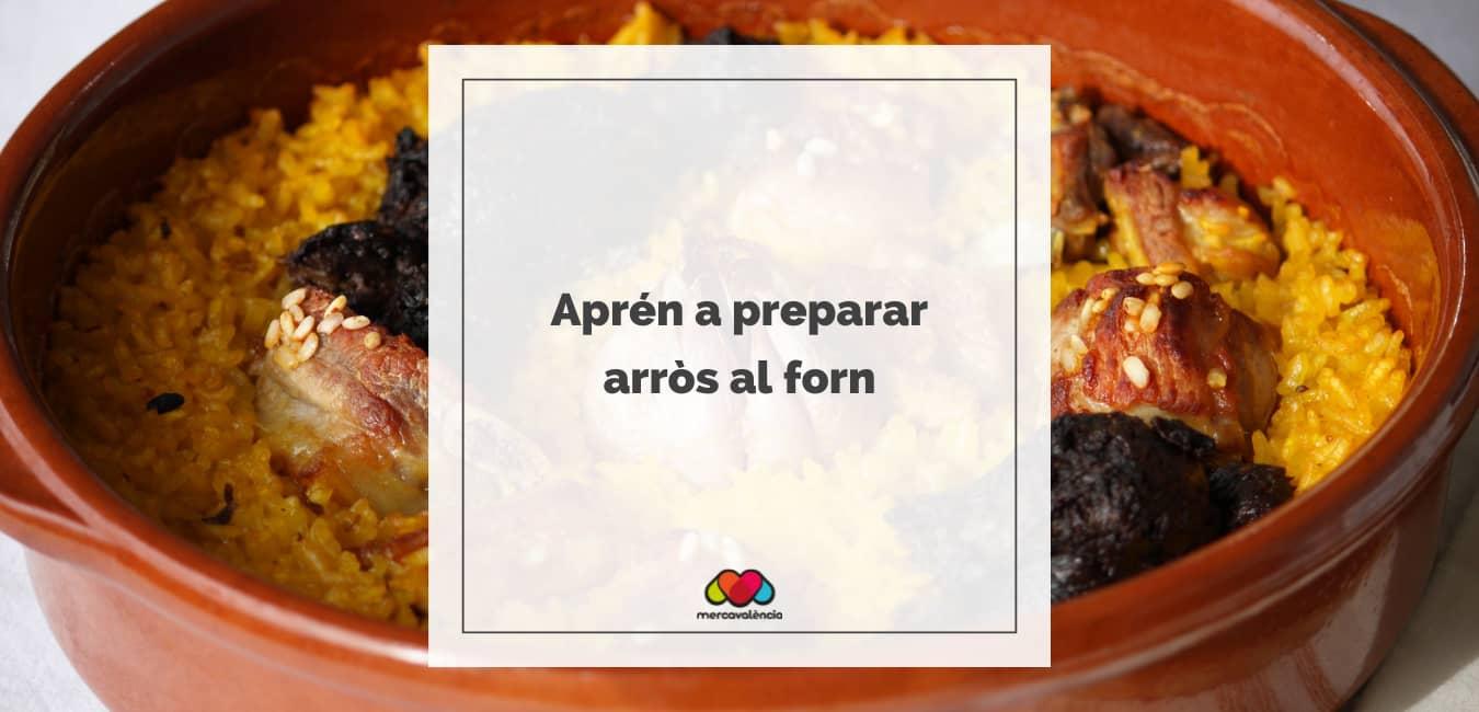 Aprén a preparar arròs al forn