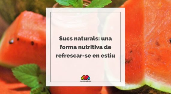 Sucs naturals: una forma nutritiva de refrescar-se en estiu